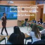 inteligencia emocional para familias, mamás, colegio La anunciata