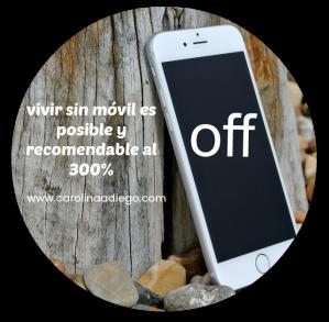 vivir sin móvil es posible y recomendable