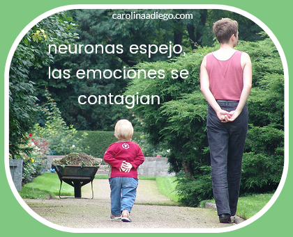 neuronas espejo, las emociones se contagian